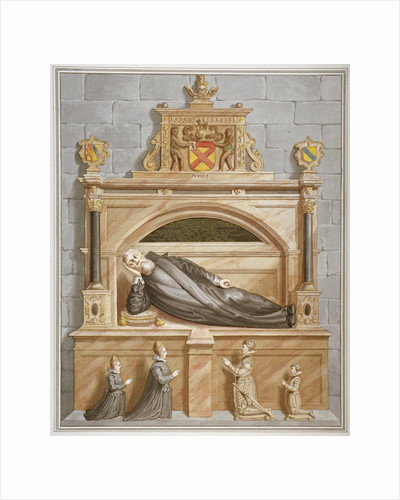 Monument to Sir Edward Bruce in Rolls Chapel, Chancery Lane, City of London by Anonymous