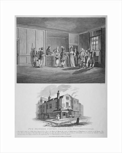 Hand and Shears Inn, Cloth Fair, City of London by Felix Edouard Vallotton