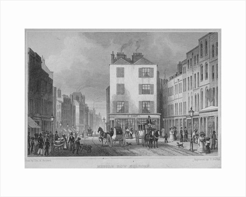 Middle Row, Holborn, London by Thomas Barber