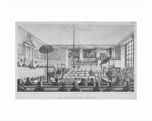 Interior view of the Sessions House, Old Bailey, City of London by Corbis