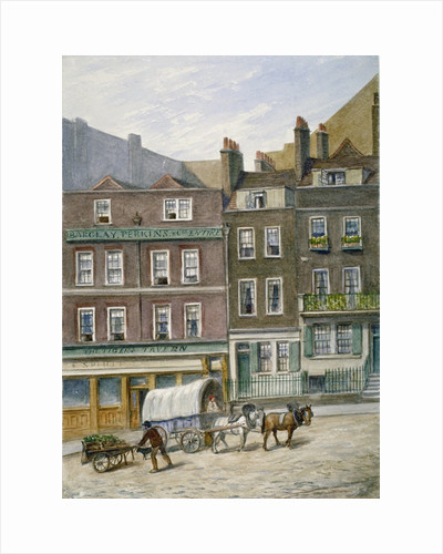 The Tiger Tavern, Tower Dock, London by William Pickett