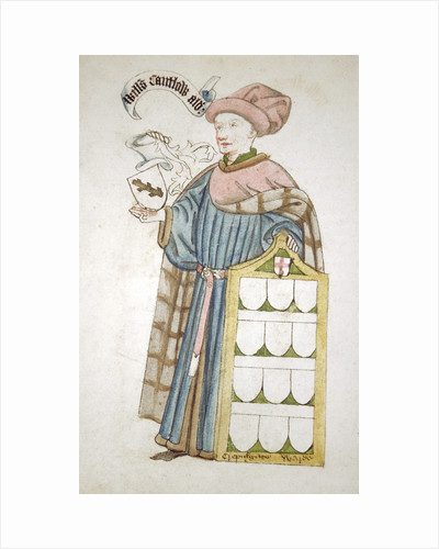 William Cantelowe, Sheriff of London 1448-1449, in aldermanic robes by Roger Leigh