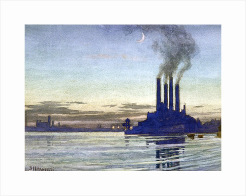 Lots Road Power Station - Evening by Corbis