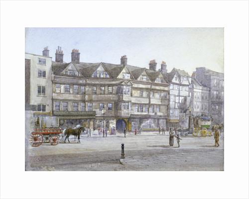 Staple Inn, London by William Pickett
