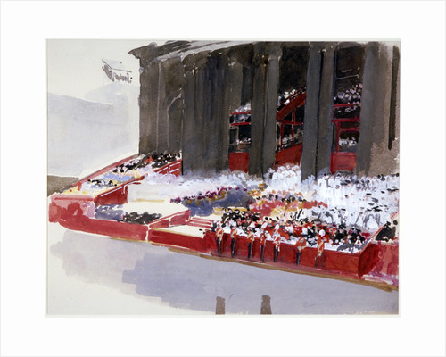 Study for 'Queen Victoria's Diamond Jubilee Service' by Andrew Garrick Gow