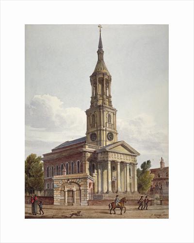 St Leonard's Church, Shoreditch, London by John Coney