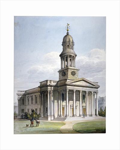 St Marylebone New Church, London by Anonymous