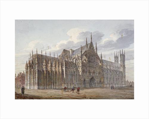 Westminster Abbey, London by John Coney