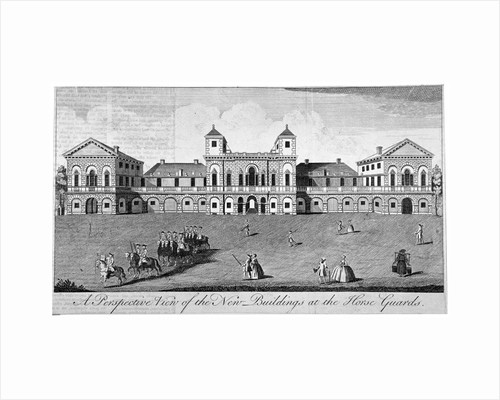 The parade at Horse Guards, Westminster, London by Anonymous