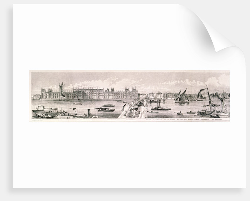 London from the River Thames by