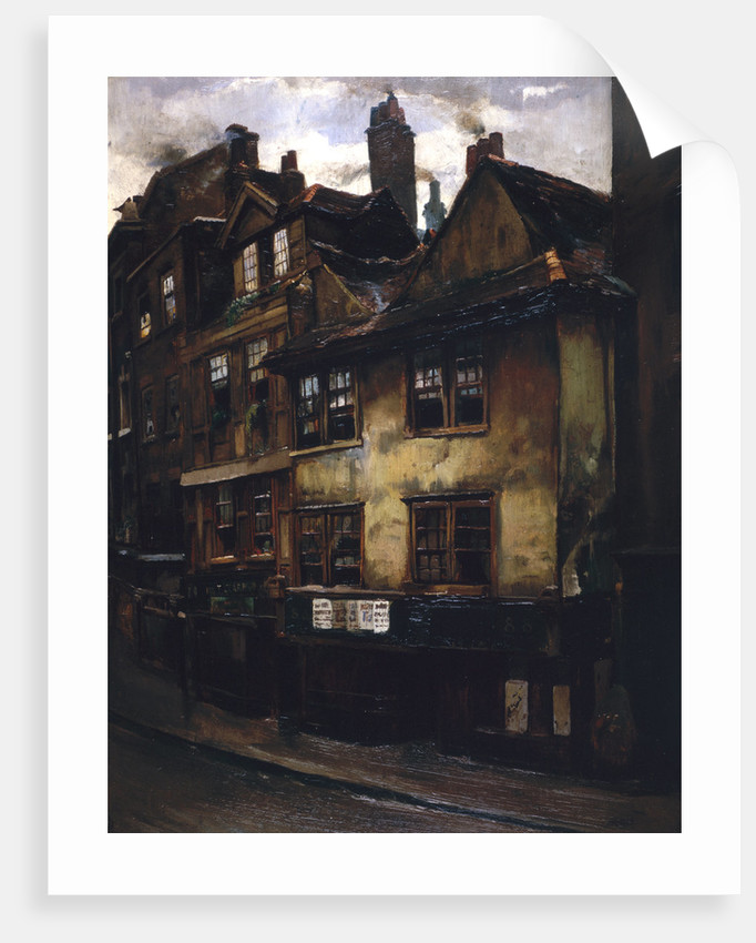 The Cock and Magpie Tavern, Drury Lane by Joseph Henderson