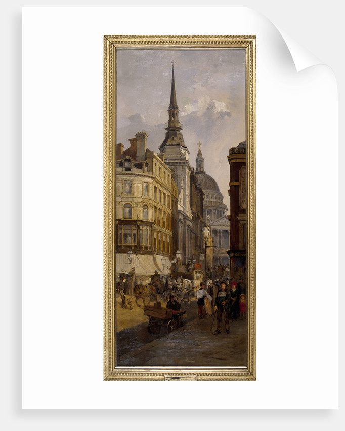 Ludgate Hill by Charles John Watson