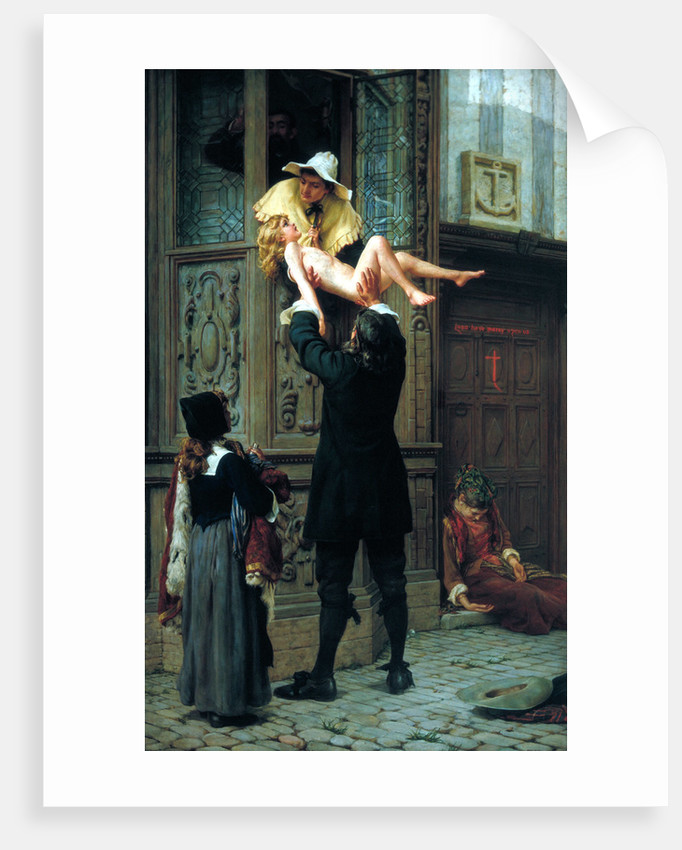 Rescued from the Plague by Francis William Topham