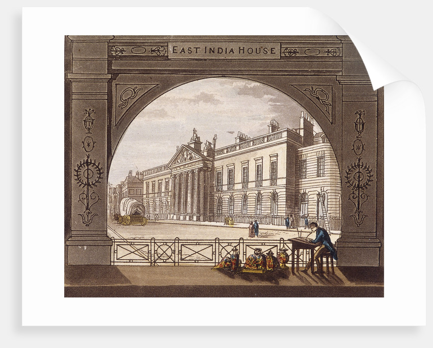 East India House, London by Anonymous