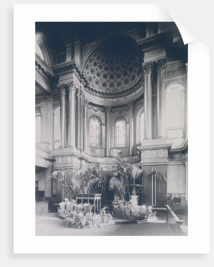 New Synagogue, Great St Helens, London by