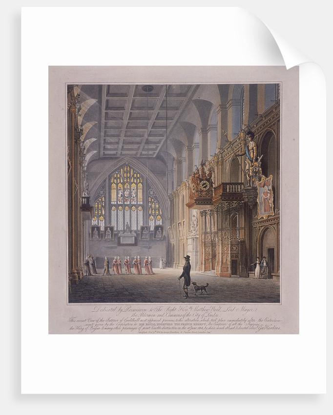 Guildhall, London by George Hawkins