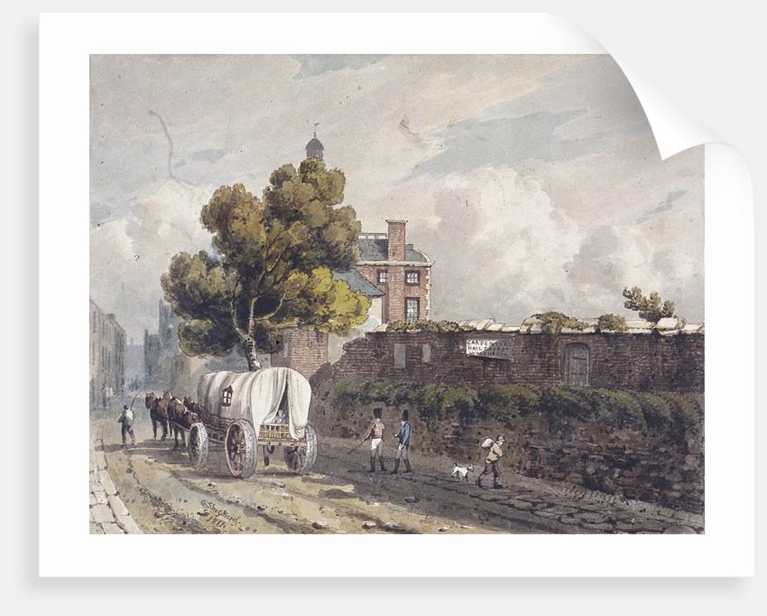 London Wall, London by George Shepherd