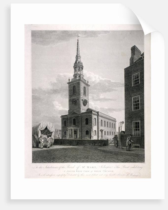 St Mary, Islington, London by John Roffe
