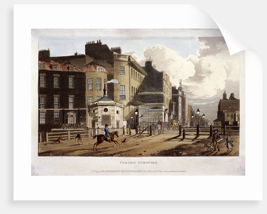 Tyburn, Paddington, London by Anonymous