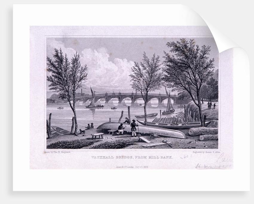 Vauxhall Bridge, Lambeth, London by