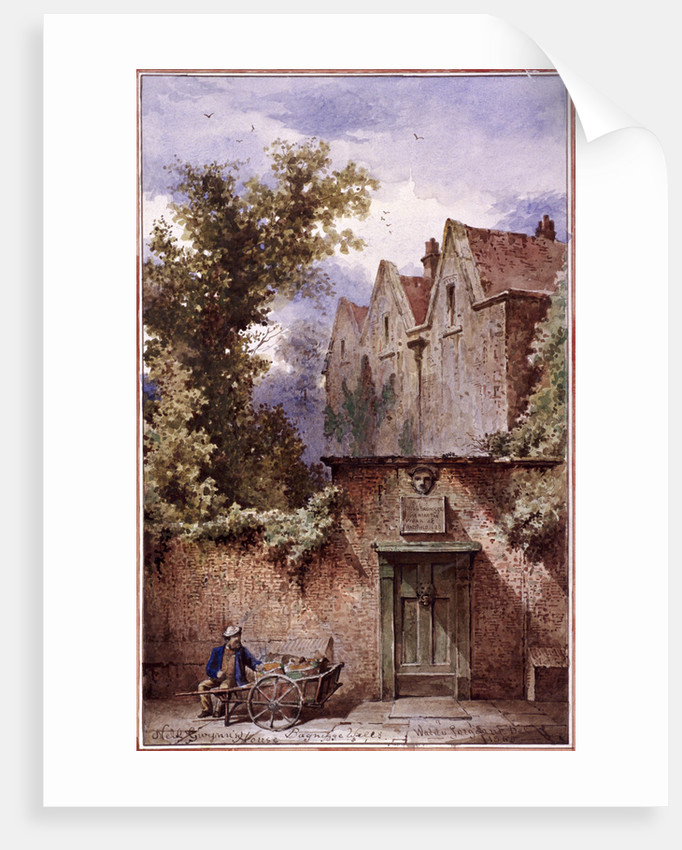 Nell Gwynne's house, Bagnigge Wells, St Pancras, London by Waldo Sargeant