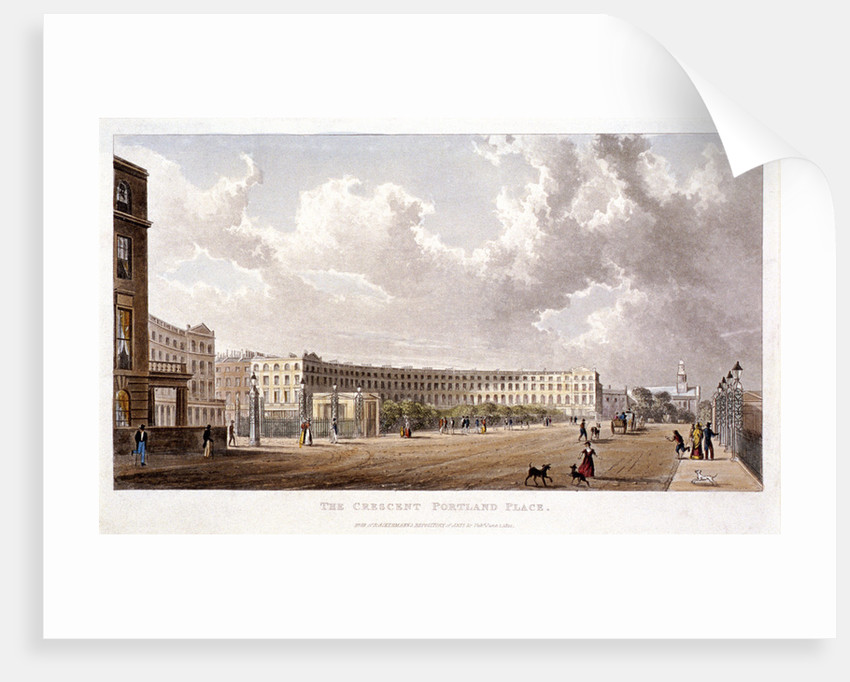 Portland Place, Marylebone, London by