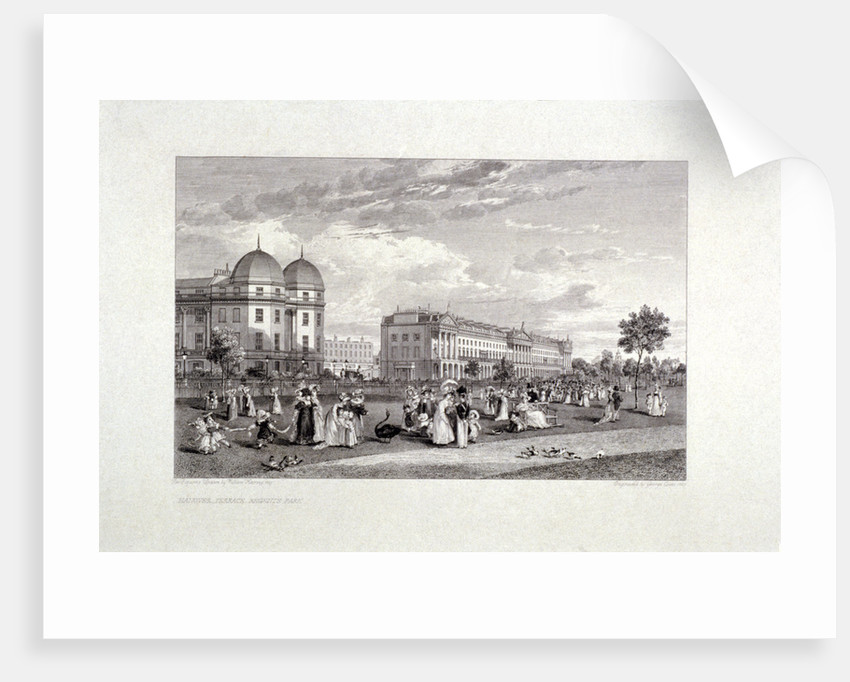 Hanover Terrace, Regent's Park, London by William Harvey