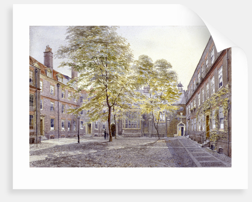 View of Staple Inn, London by