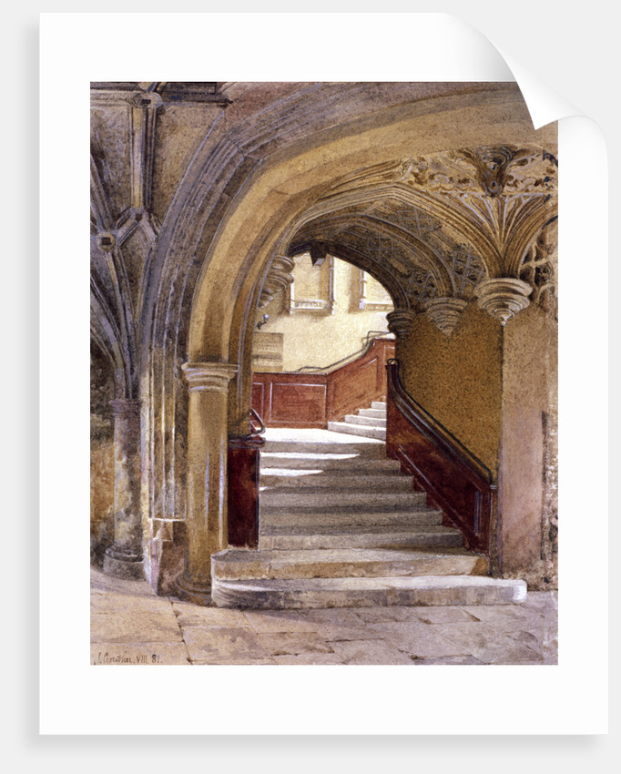 Lincoln's Inn Chapel, London by John Crowther