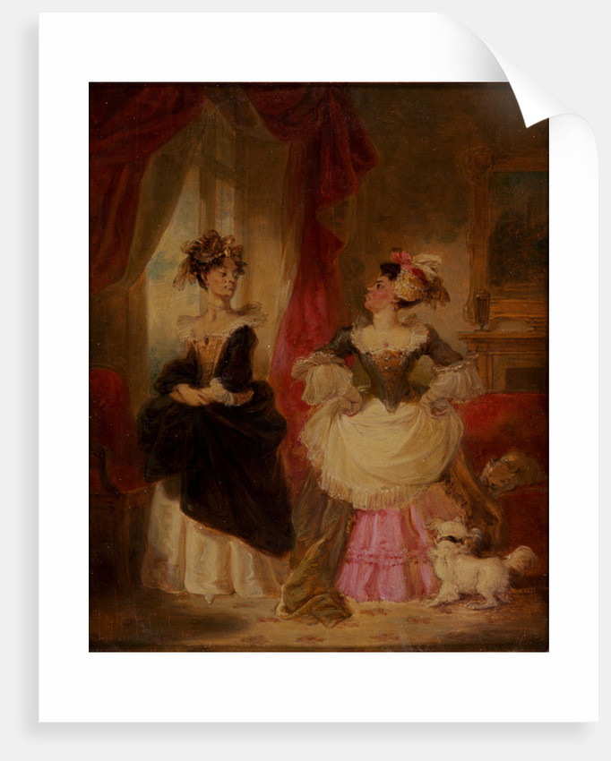 The Rivals, (c1827?) by Robert Smirke