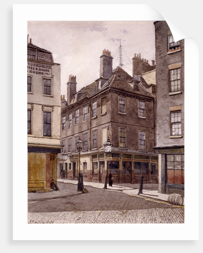 King Street, Stepney, London by John Crowther