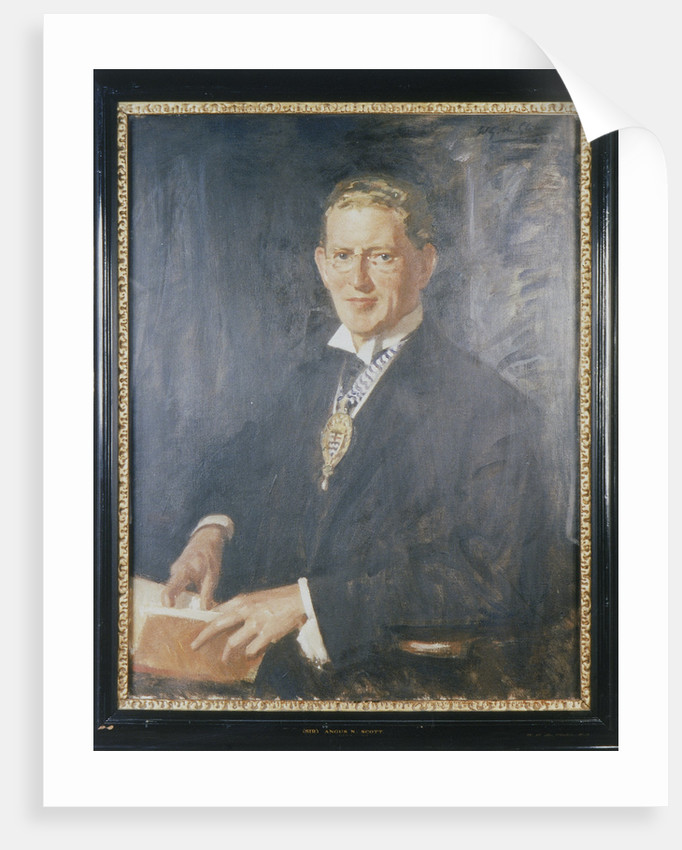 Sir Angus Newton Scott by Wilfred Gabriel de Glehn