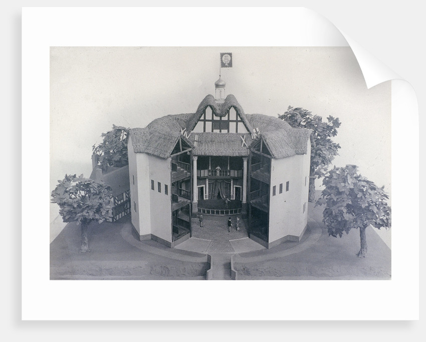 Model of the Globe Theatre by