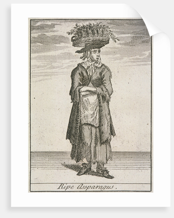 Ripe Assparagus, Cries of London, (c1688?) by