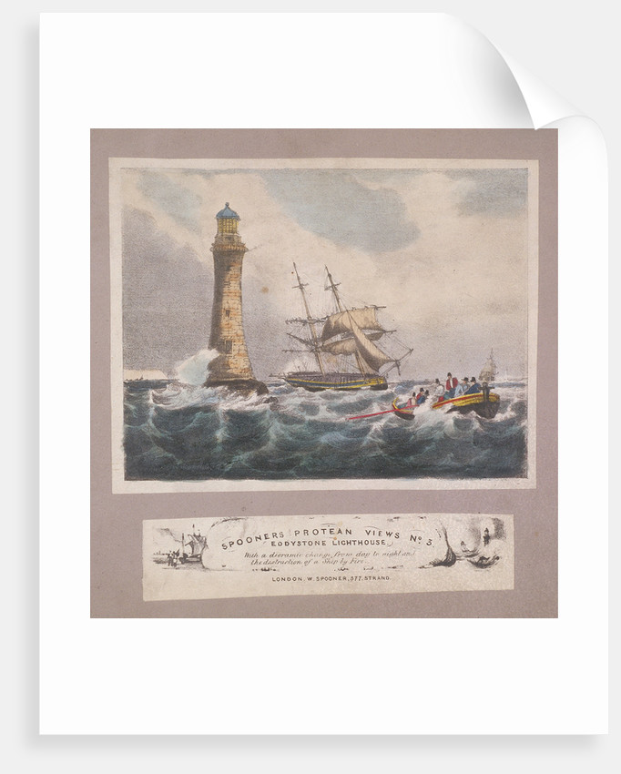 Eddystone Lighthouse, Plymouth, Devon by