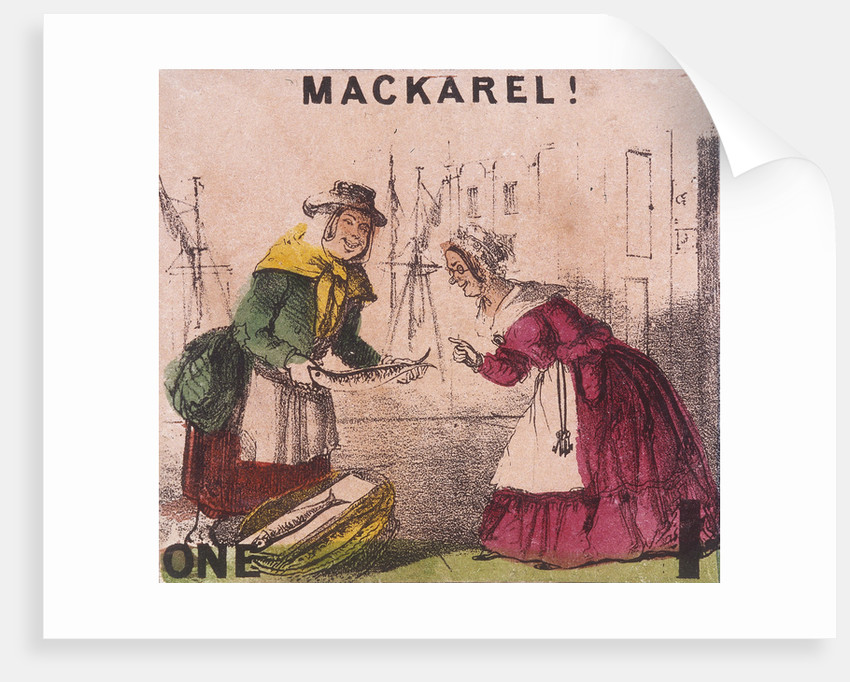 Mackarel!, Cries of London by TH Jones