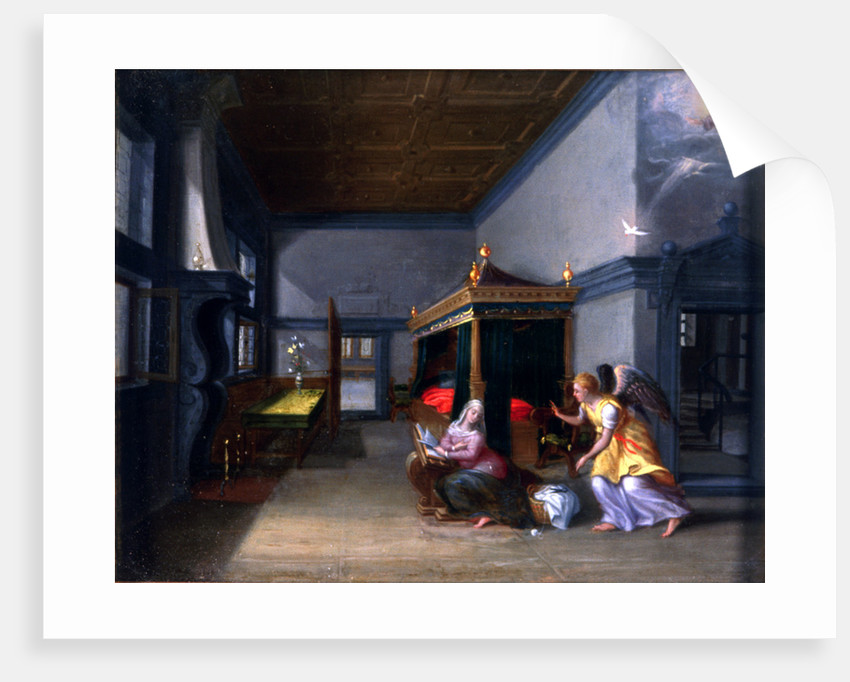 The Annunciation' by Anonymous