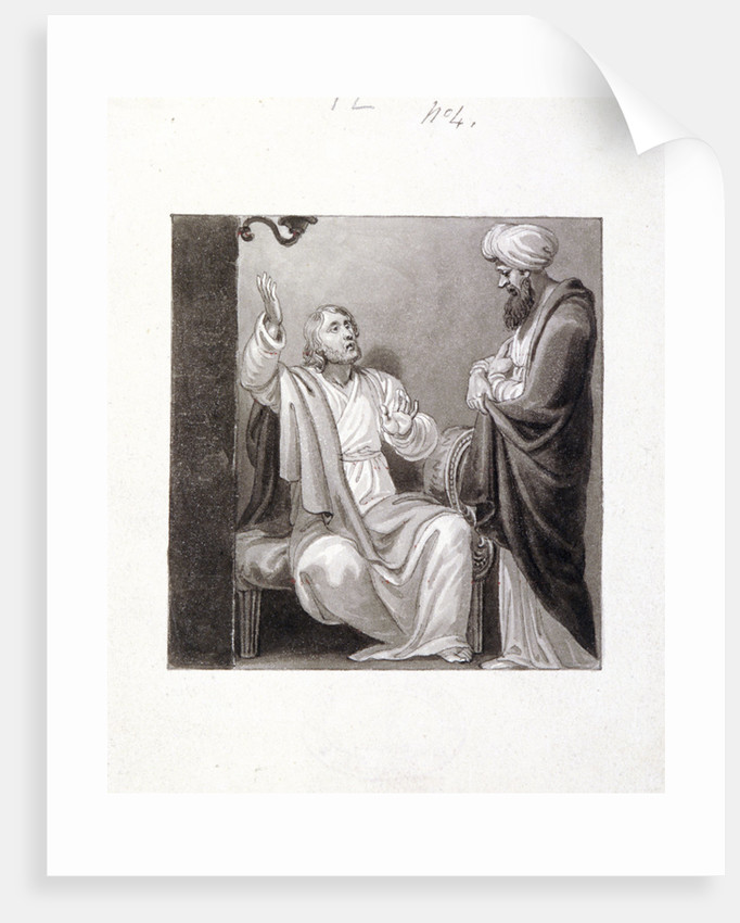 Christ Preaching by Henry Corbould