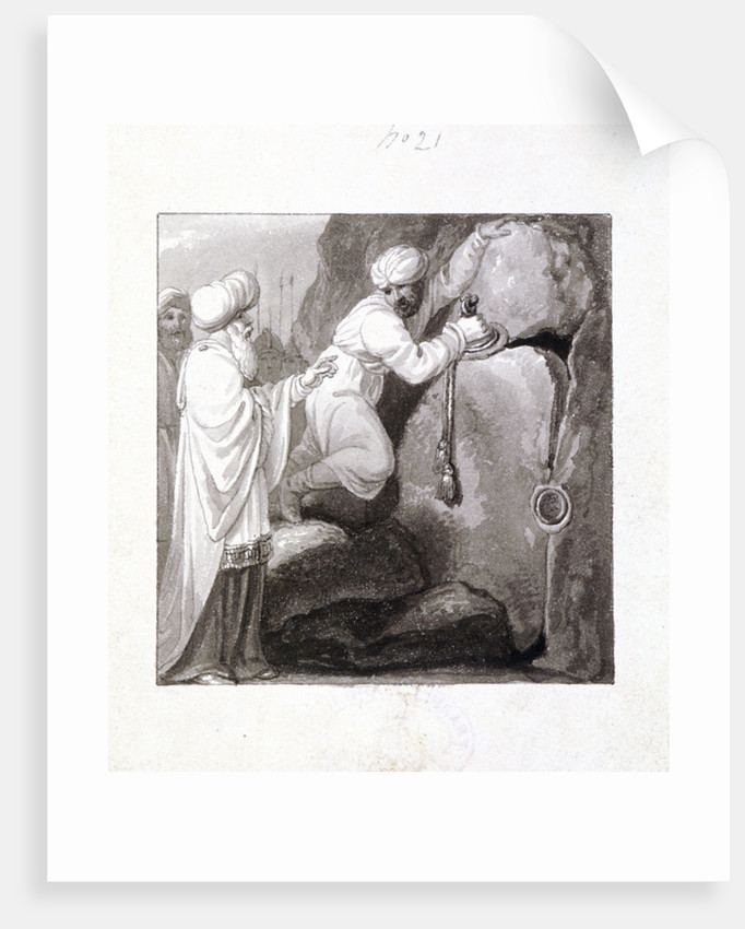 The Sealing of the sepulchre by Henry Corbould