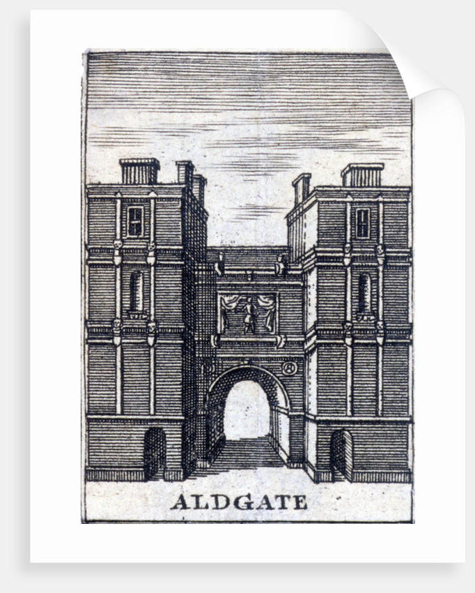 Aldgate, London, c1800(?) by Anonymous