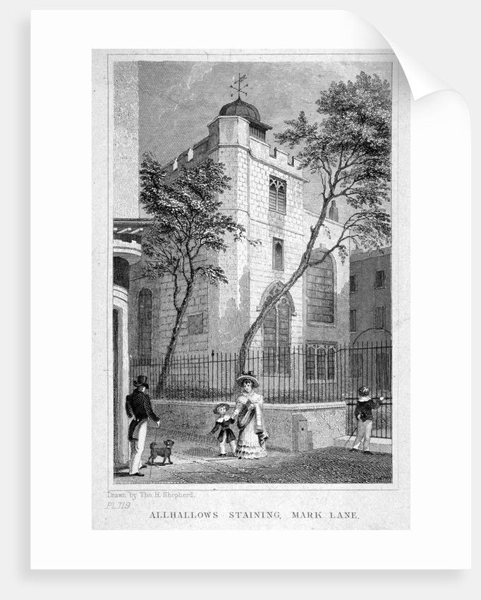 Church of All Hallows Staining, London by