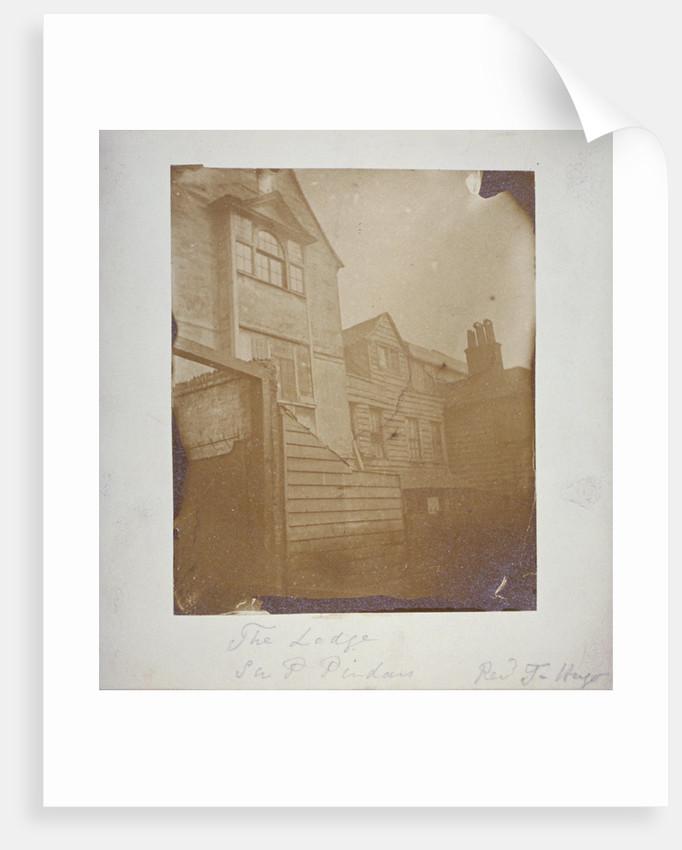Sir Paul Pindar's House, Bishopsgate, City of London by Thomas Hugo