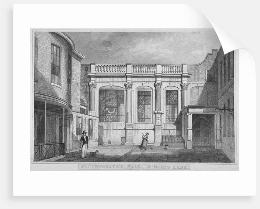 Clothworkers' Hall, Mincing Lane, City of London by W Wallis