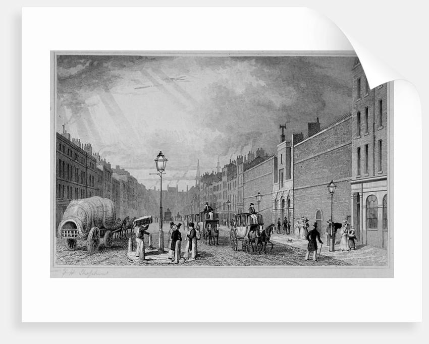 Fleet Prison, City of London by J Henshall