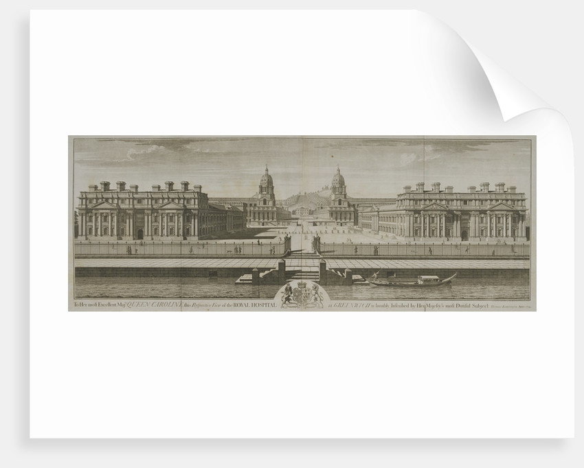 Greenwich Hospital, London by William Henry Toms