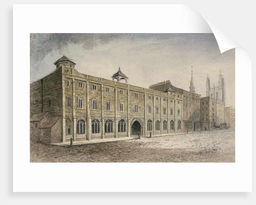 Leadenhall, City of London by John Carter