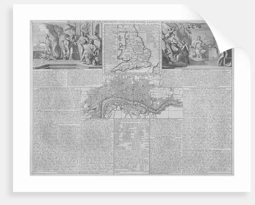 Maps of England, Wales and London by Anonymous