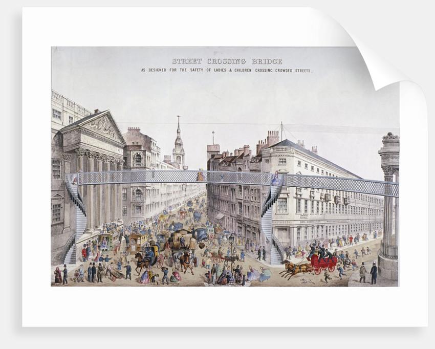 Street Crossing Bridge, London by Anonymous