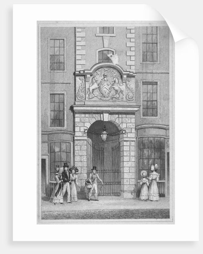 Saddlers' Hall, Cheapside, City of London by W Watkins