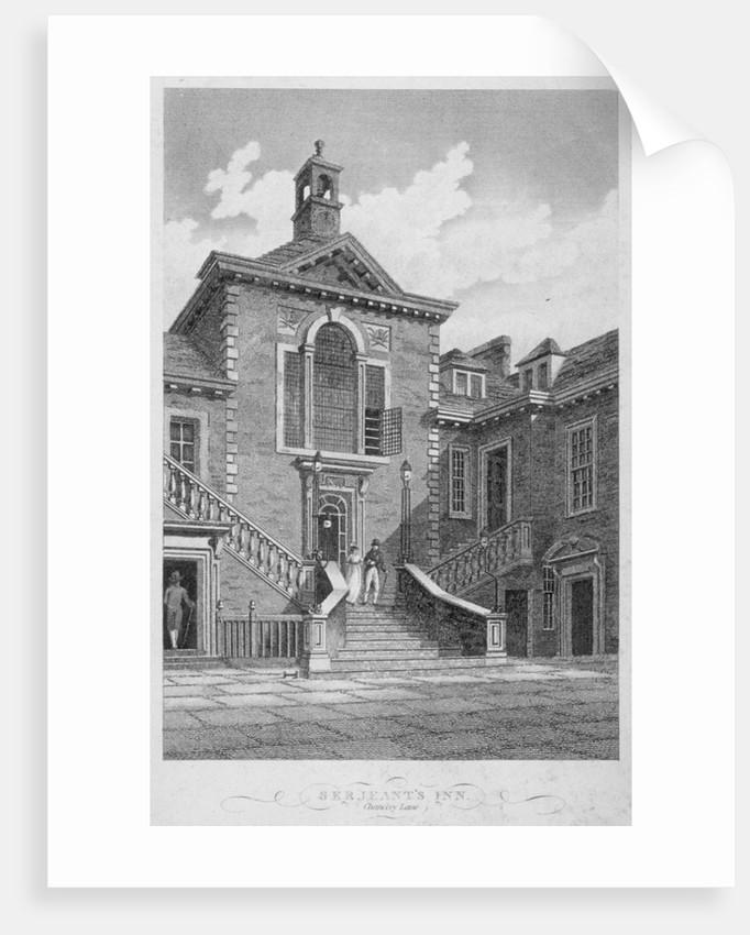Serjeants' Inn, Chancery Lane, City of London by John Greig